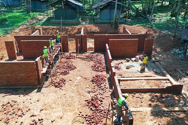 Adumbi camp being developed