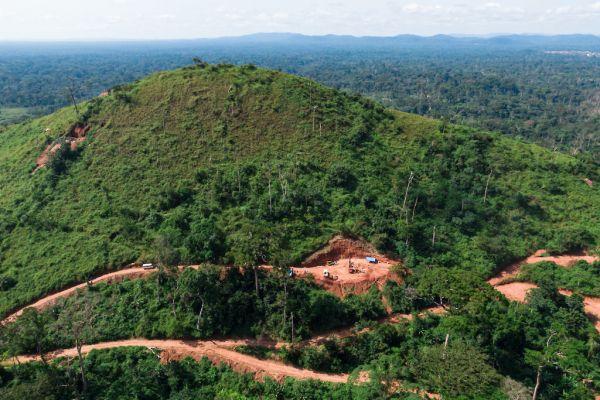 Drilling at Adumbi